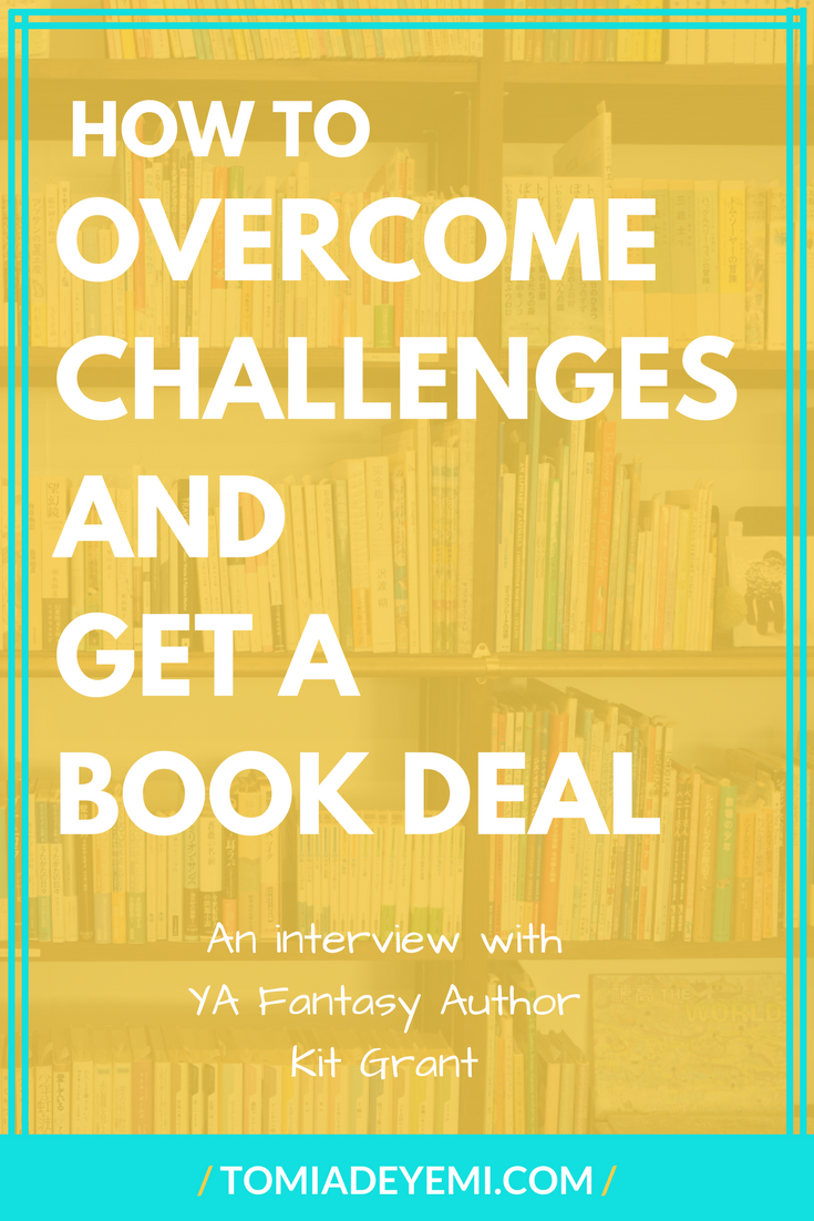 Do you dream of getting a book deal? Click here to learn how one author overcome her obstacles and landed an awesome book deal!
