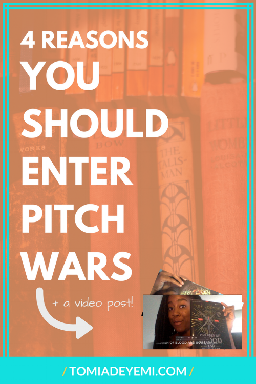 Pitch Wars is coming up! Click here to learn 4 reasons you should enter!