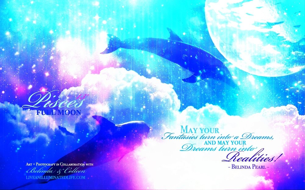 Pisces Moon Dolphins