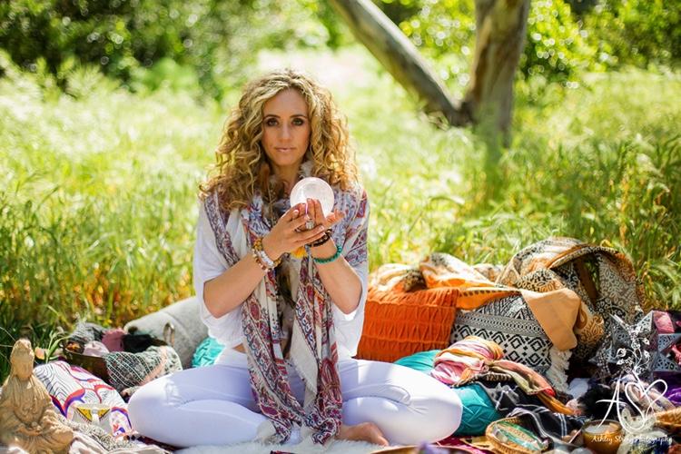 Belinda Pearl in her Mystical Playground