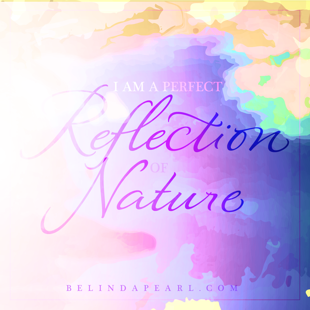 April - I am a perfect reflection of nature