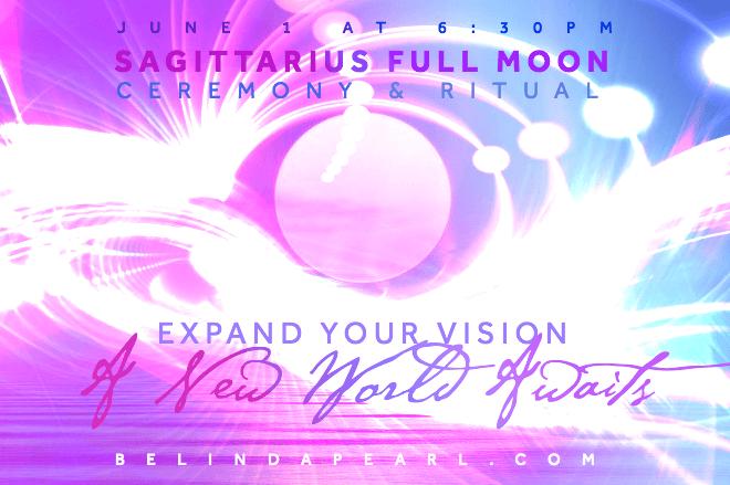 Full Moon Sagittarius Ceremony + Ritual