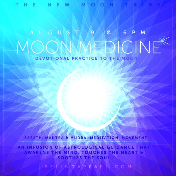 Evening of Healing - New Moon Medicine - Leo