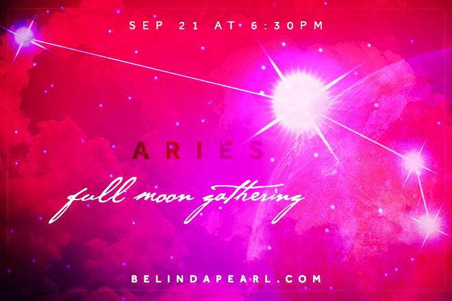 Full Moon Gathering Aries
