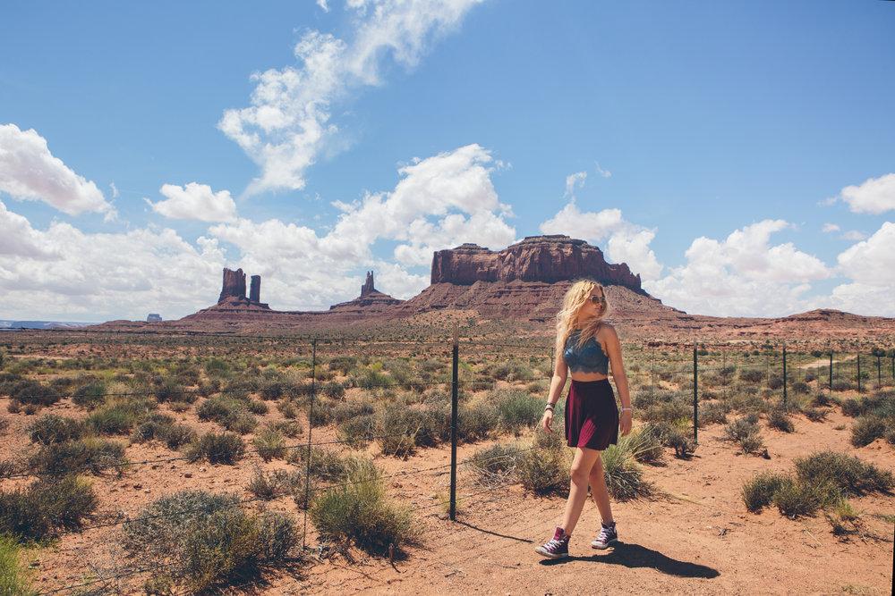 Monument Valley senior picture.