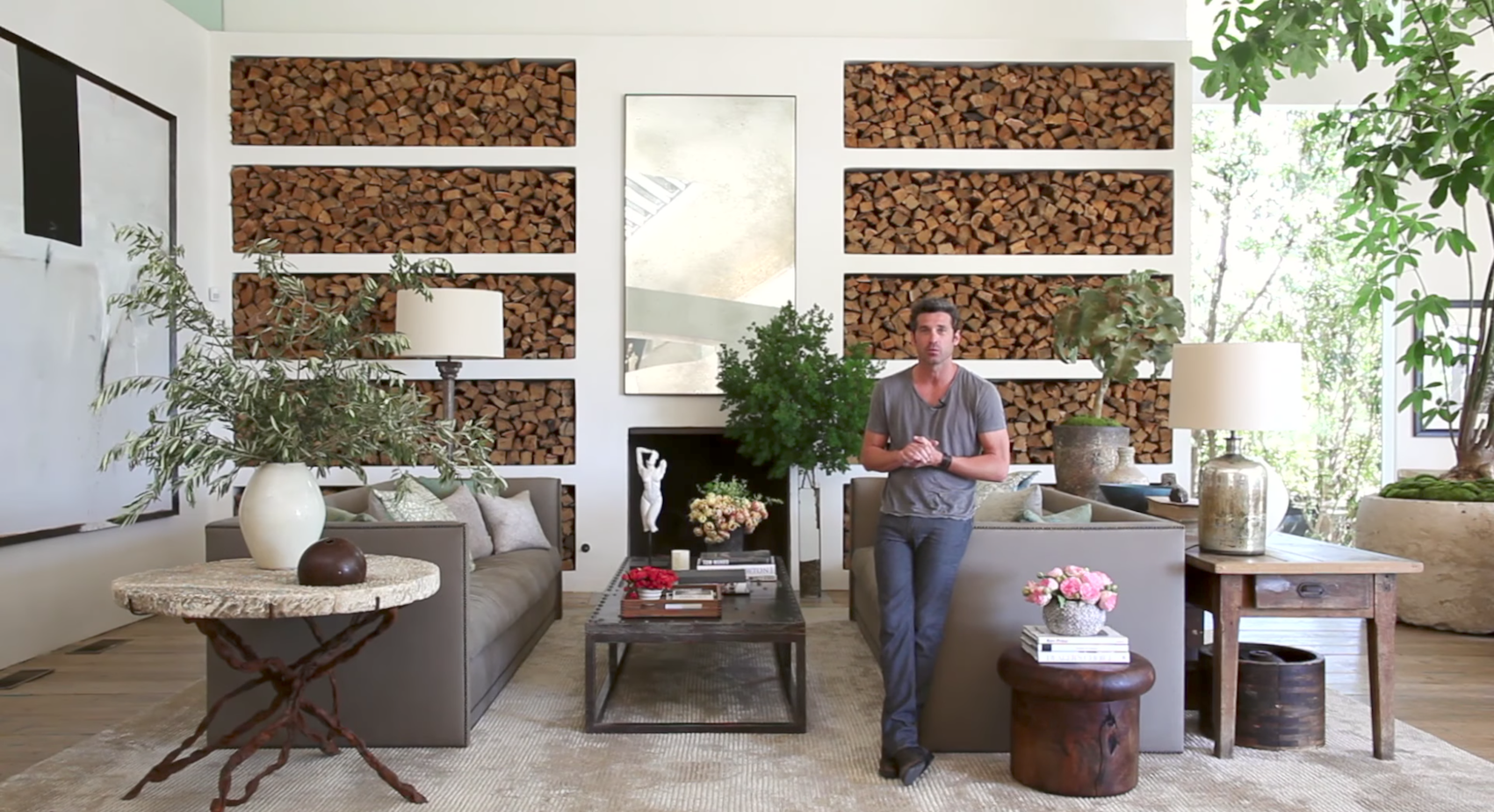 Ad Visits Patrick Dempsey At His Malibu Home Architectural Digest