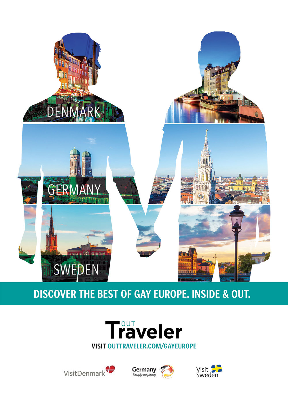 Massive social media promotion, including a sponsored Instagram contest rewarded two LGBT traveler's with a trip to experience each city for themselves.