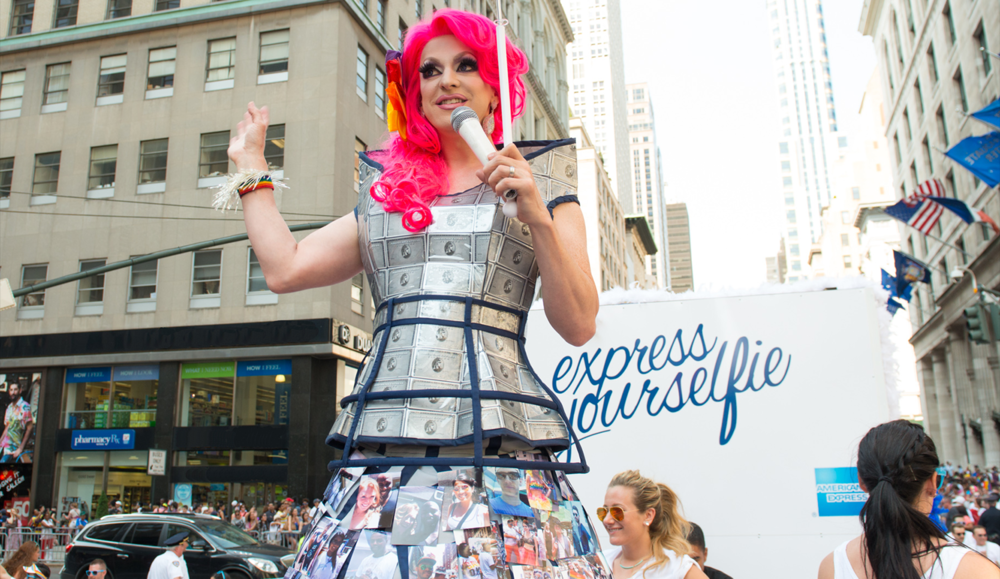 Here Media implemented a 360-degree program to generate regional and national awareness of American Express and its valued merchants during key LGBT pride events across the nation by asking pride-goers everywhere to #ExpressYourSelfie.