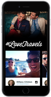 Marriott also received a #LoveTravels content hub on Pride.com, housing editorially curated travel content alongside ten custom #LoveTravels content pieces, #LoveTravels ad units and embedded social media posts.