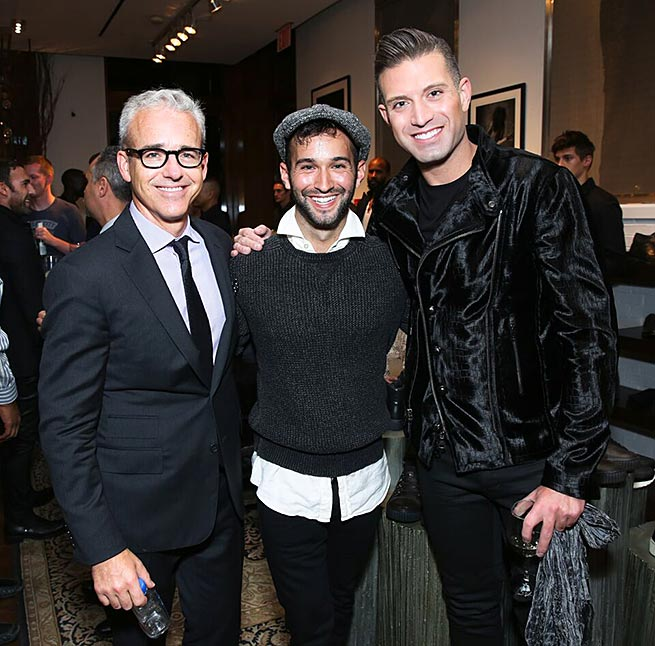 The event featured a lineup of hosts consisting of industry experts and notables including: Carlos Huber, David Burtka, Aaron Hicklin, Nir Hod, Joe Machota and Omar Sharif Jr. All were in attendance to celebrate the launch of the Fall collection in John Varvatos's SoHo location.