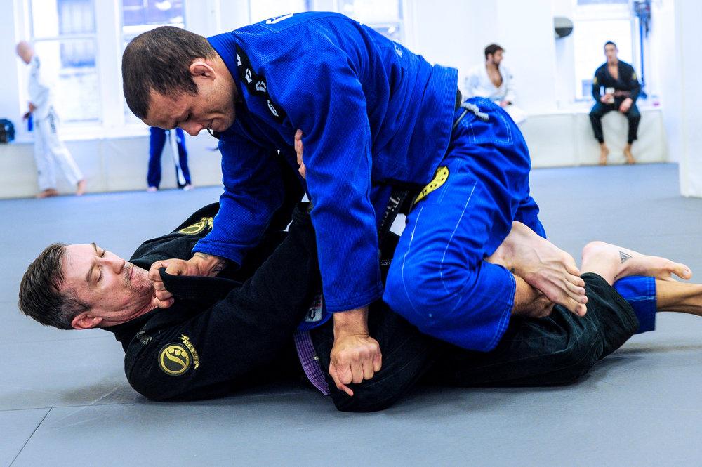 Training Brazilian Jiu-Jitsu with World Champion Marcos Tinoco at Marcelo Garcia Academy (NYC)