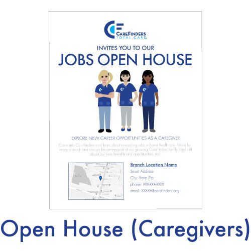 Open House (Caregivers)