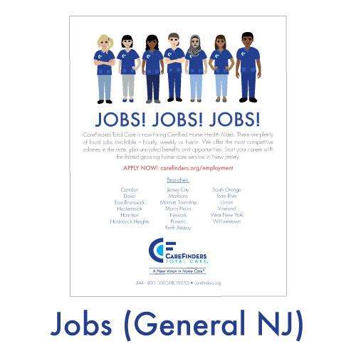 Jobs (General NJ)