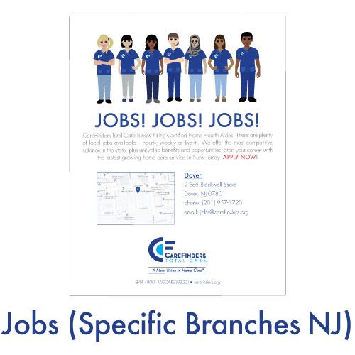 Jobs (Specific Branches NJ)