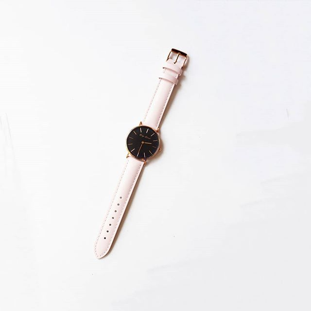 Alluring. Wanaka 34mm by Roys Road. . . . . . . . . . . #roysroad #designerwatches #wellington #newzealand #fashion #stylelover #beautifuldesign #giftideas #wanaka #wristwatch #genuineleather #love #watchesofinstagram #minimal #elegant #blushpink #nzdesign #shoponline #fashionista