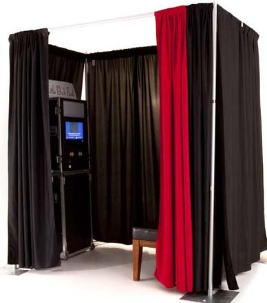 The Compact design of this photo booth makes it perfect for parties!