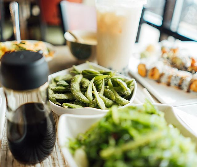 What is a sushi date without a little edamame to start it off with? Boring, that's what.  Stop in for or lunch specials all week long starting Tuesday! See you soon 🤗