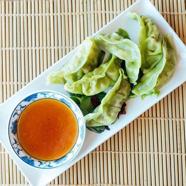 Who knew dumplings looked so good? Try out our Yasai Gyoza with your sushi! Its a steamed Japanese vegetable dumpling.