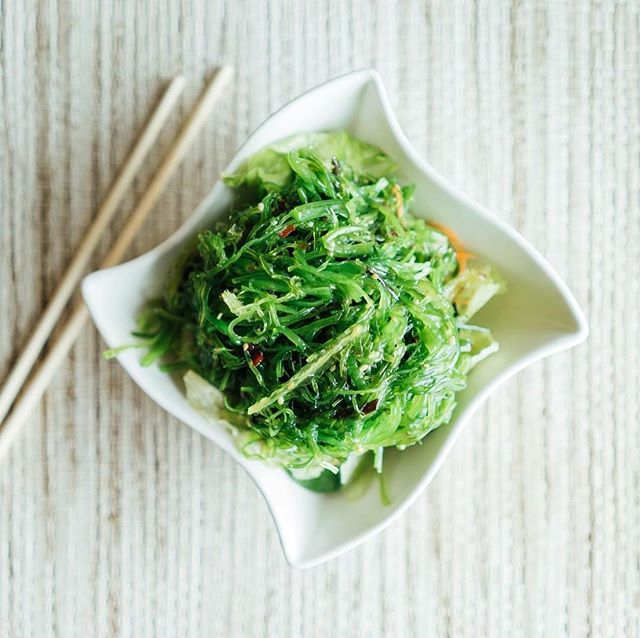What's even better than how pretty Seaweed Salad looks? How it tastes! Enjoy a seaweed salad appetizer with your sushi today!