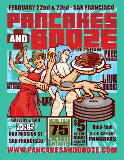 Pancakes and booze 2012