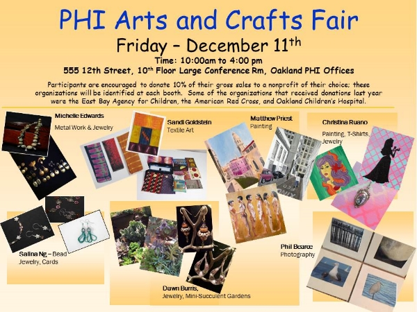 PHI Arts and Crafts Fair flyer 2015 final