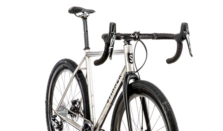 Custom Handbuilt Titanium Cyclocross Bike