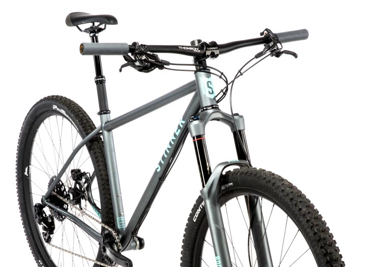 Custom handbuilt steel mountain bike