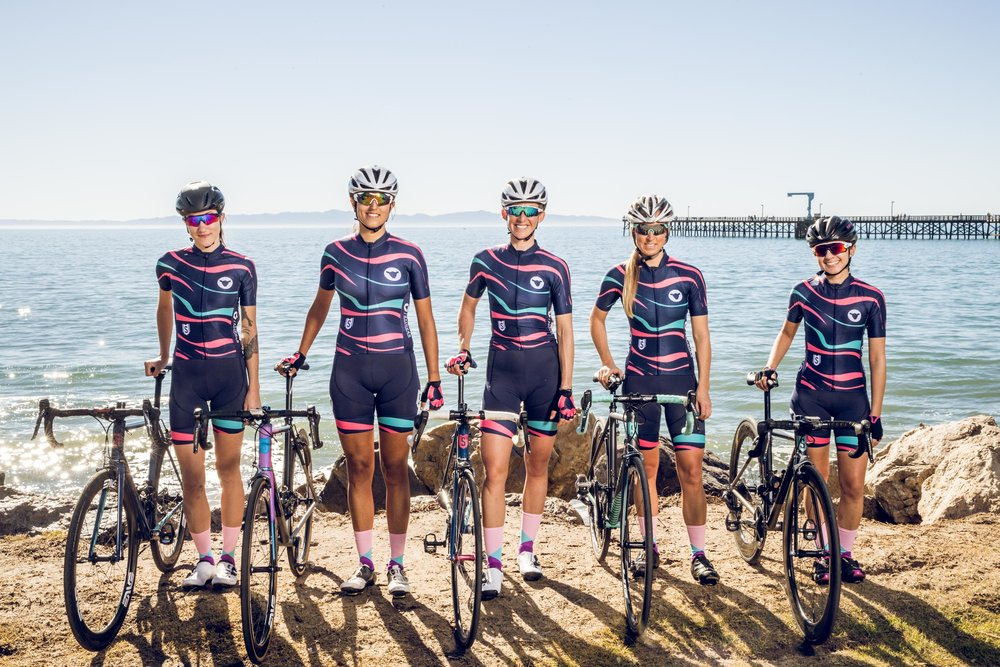 Stinner | Black Sheep Women's Racing  ( left to right ): Ginger Boyd, Jessica Baumgardner, Julia Gieschen, Tara Conway, Nicole Datlen   Photo: MCM