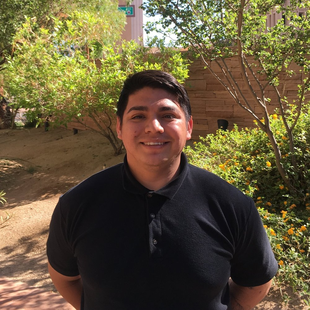 Felix Moran | Youth Outreach Coordinator   Felix Moran joined Opportunities for Youth on April 2, 2018. Formerly an opportunity youth himself, he aims to empower youth to find their voice, encouraging them to speak to their local/state political officials. He loves advocacy and being involved in the community. Felix plans to further his education and attend Arizona State University for political science. He would like to make Arizona a better place for all its residents.    Felix.Moran@asu.edu    | (602) 534-6838