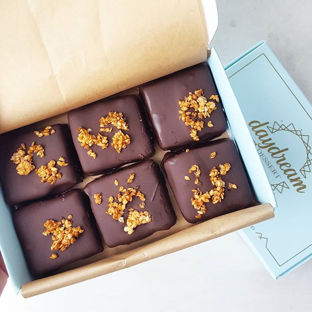 Rasa Truffles are here launching in our brand new beautiful boxes! 6 packs of these are available on our online shop ♡ made out of a medicinal dose of @wearerasa infused maple tahini ganche, enrobed in dark chocolate topped with maple tahini toasted sesame seeds. The perfect gift to love yourself, you mum, sister, friend, boss, or lover. . . . #chocolate #superfoods #plantbased #paleodessert #paleo #cacao #herbs #herbal #healing #plantmedicine #dairyfree #valentinesday #love #selflove #guiltfree #yum #daydreamdessert