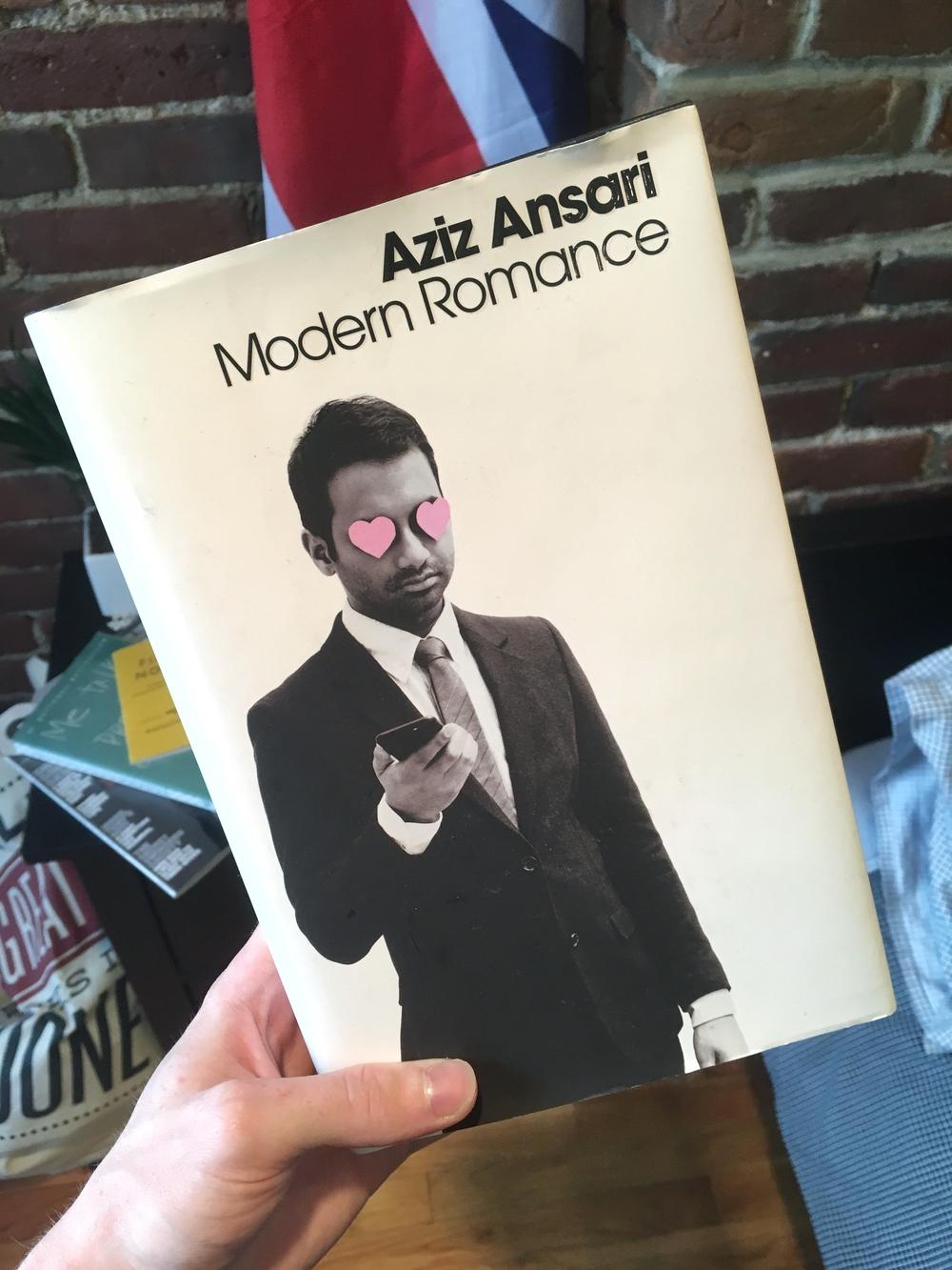 My (slightly grubby) copy of  Modern Love