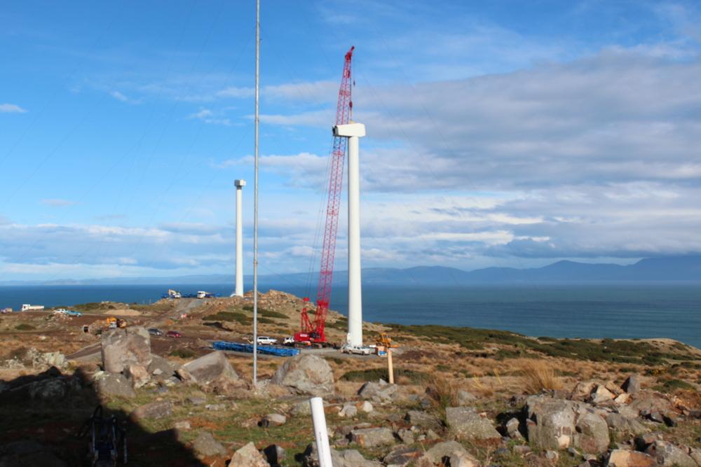 Constructing Flat Hill Wind Farm Bluff.JPG