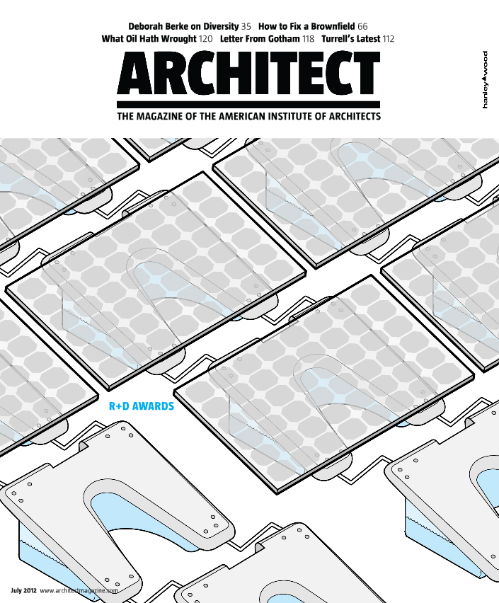 ARCHITECT MAGAZINE  07/12
