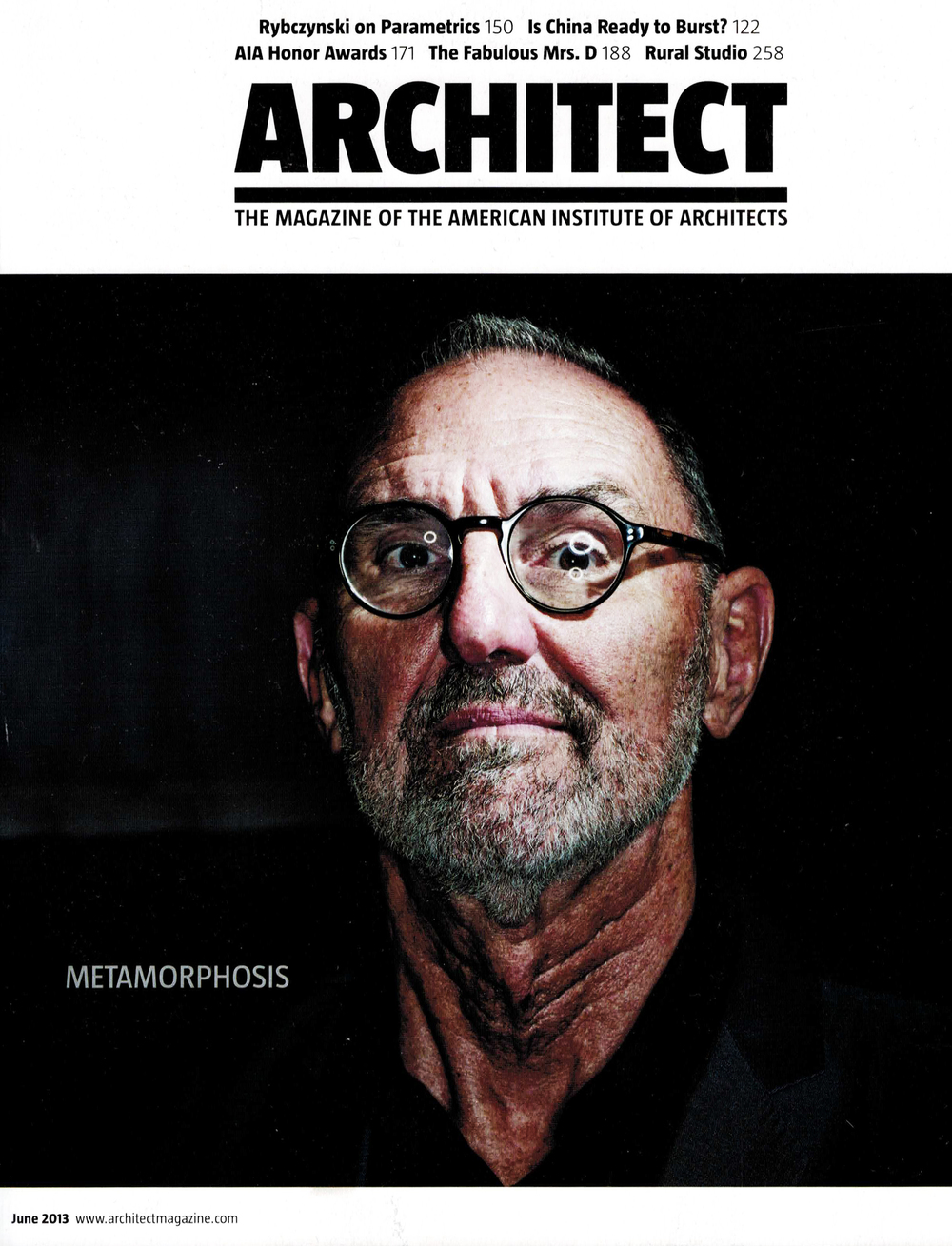 ARCHITECT MAGAZINE  06/13