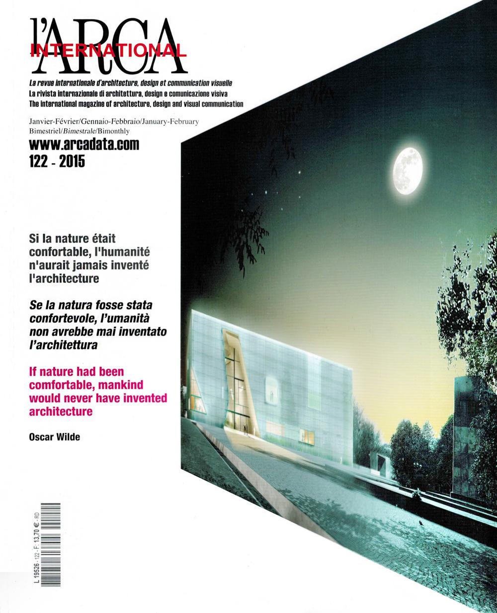 L'ARCA INTERNATIONAL  01/15