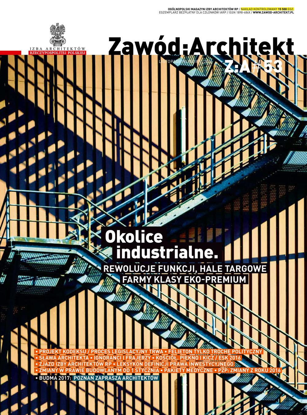 Zawod:Architekt Issue #53 2017