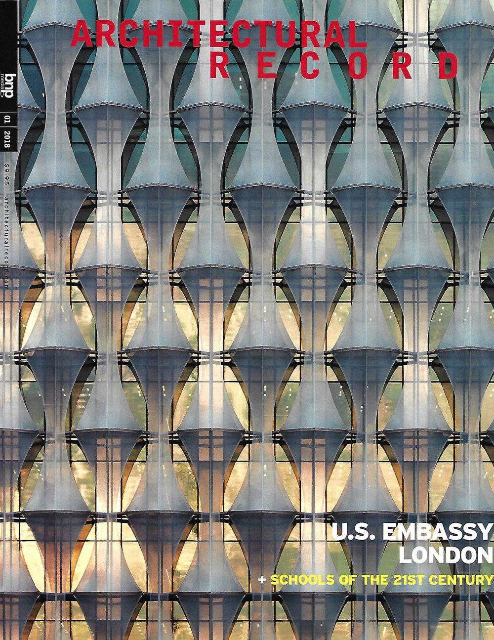 ARCHITECTURAL RECORD 01/18