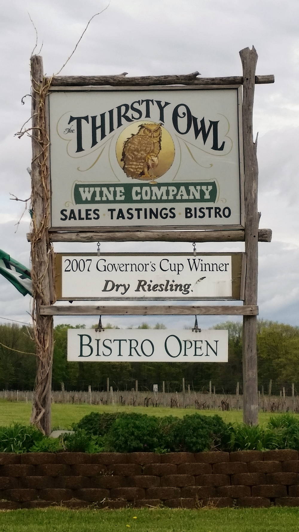 Thirsty Owl Wine Company Cayuga Lake