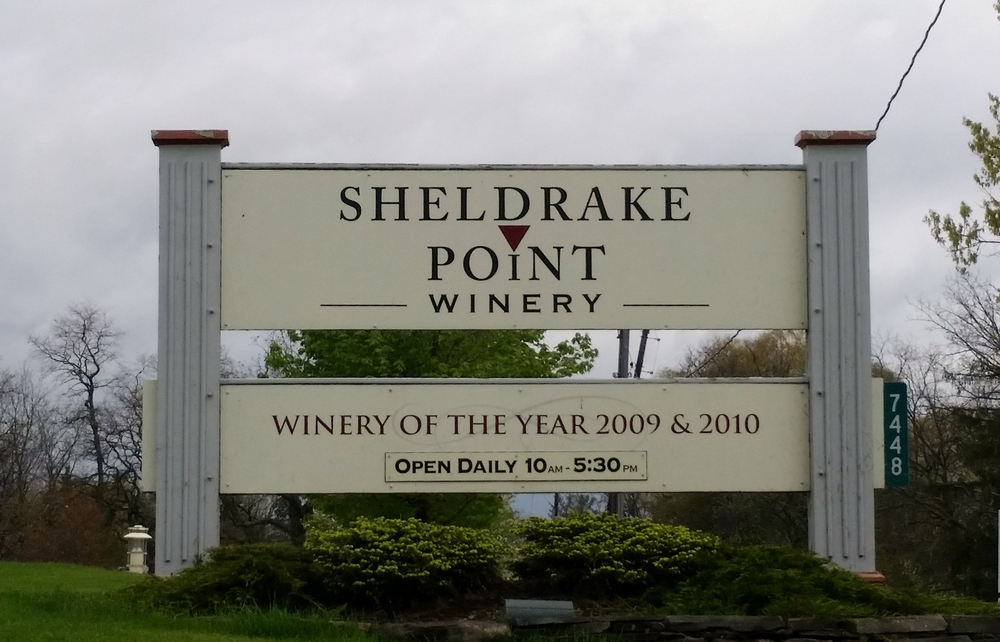 Sheldrake Point Winery Cayuga Lake