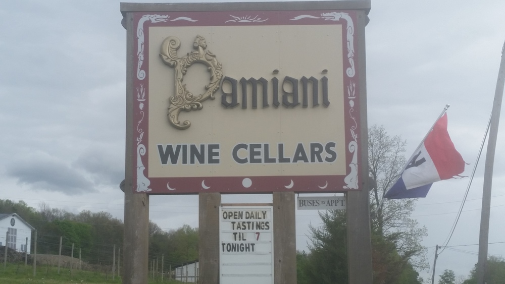 Damiani Wine Cellars Seneca Lake