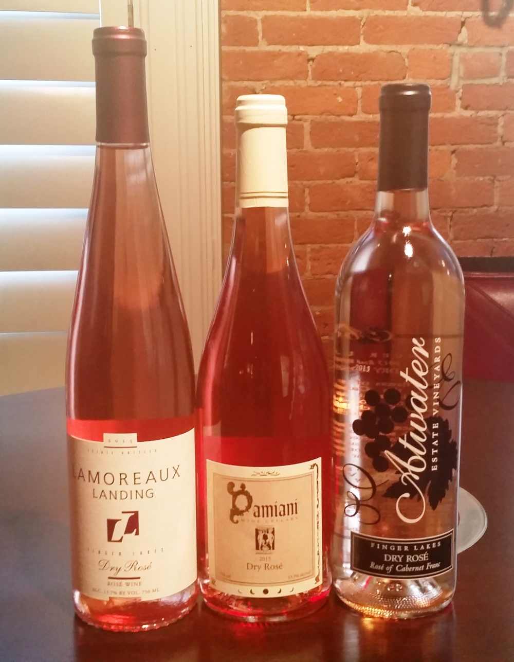 Seneca Lake Wineries Dry Rose