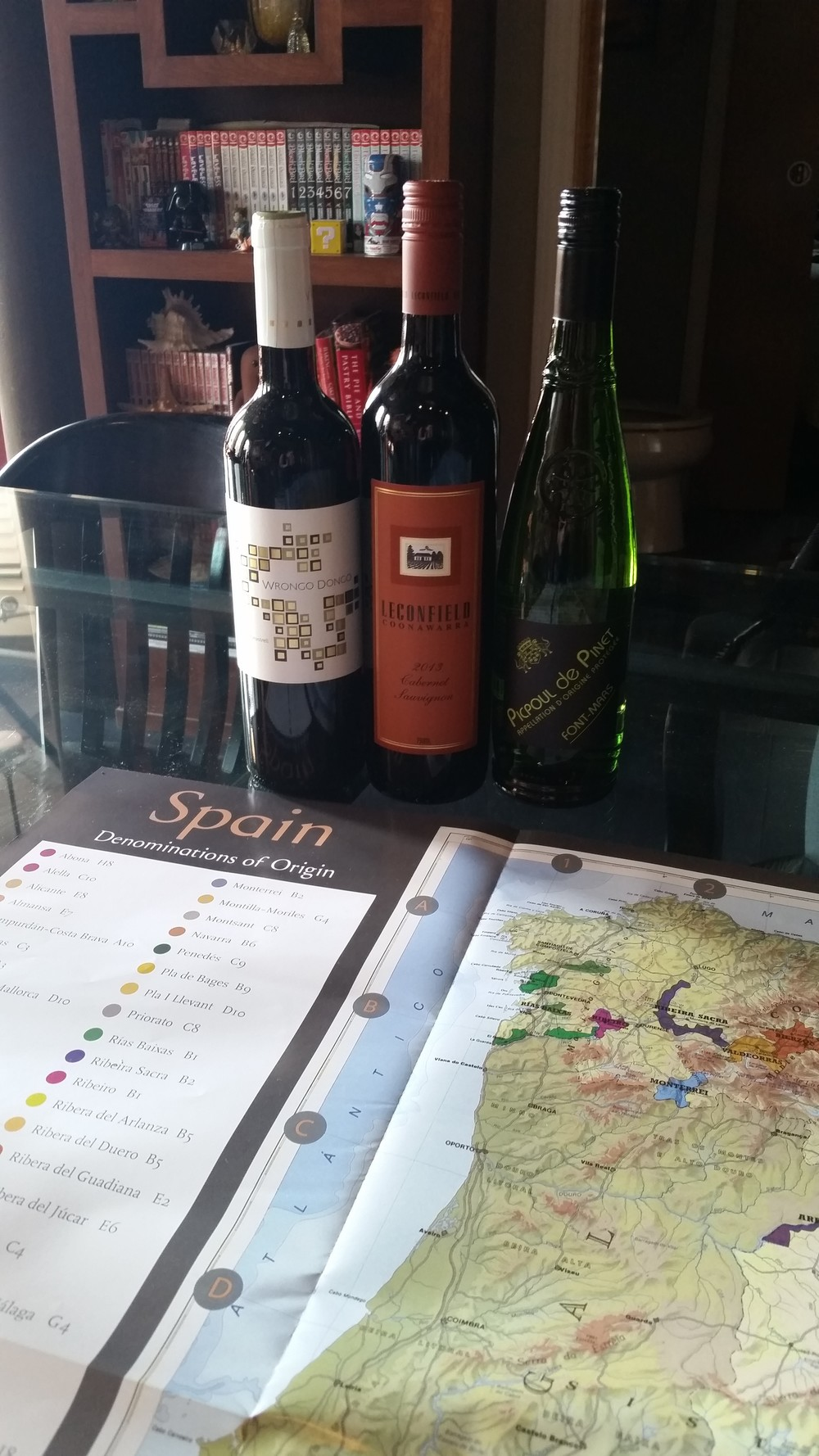 Mass Ave Wine Shop, May Wine Club and Map of Wine Regions in Spain