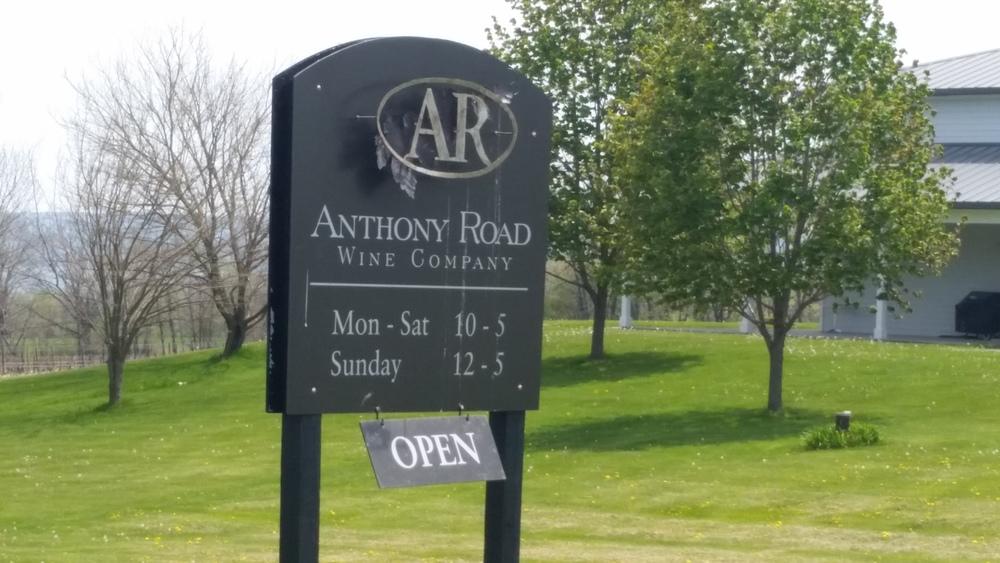 Anthony Road Wine Company, 2014 Unoaked Chardonnay, Finger Lakes Wine