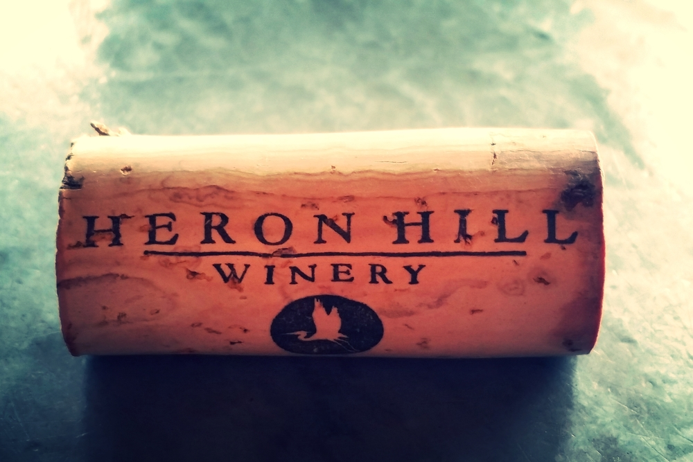 Heron Hill Winery Cork, Finger Lakes Wine