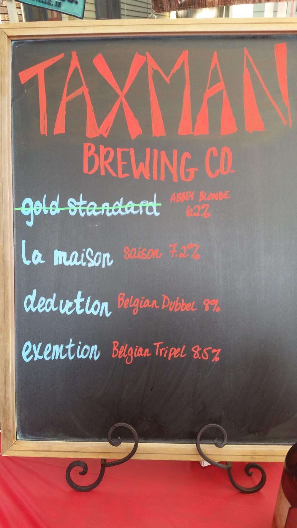 Taxman Brewing Company, Brew-Ha-Ha 2016