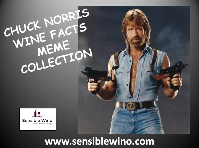 Chuck Norris Wine Facts Meme Collection