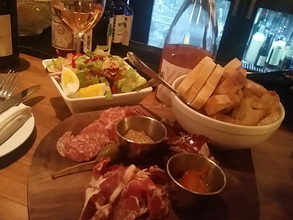 Charcuterie at Bluebeard Indy