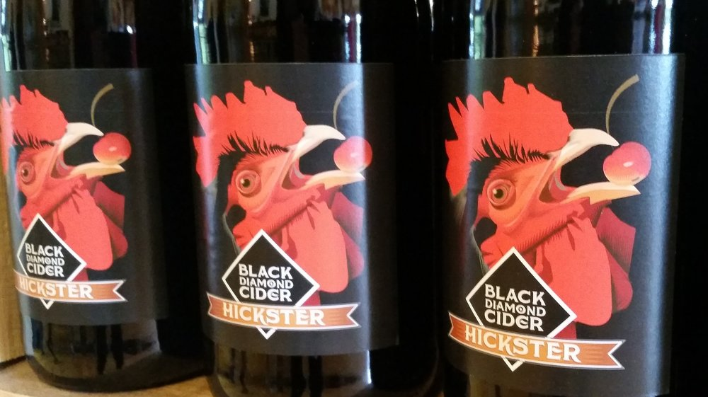 Black Diamond Cider Hickster - Finger Lakes Cider House