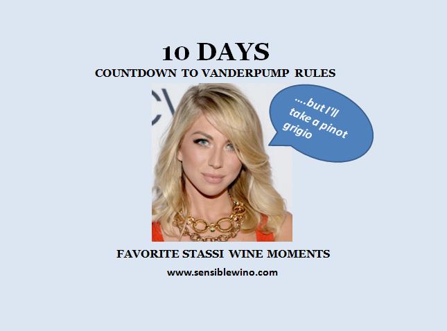 Vanderpump Rules Countdown Day 10 - Favorite Wine Moments By Stassi Schroeder