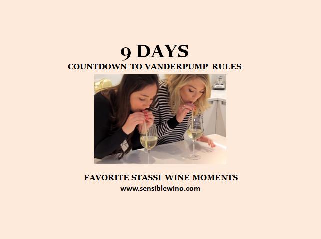 9 Days! Vanderpump Rules Countdown with Stassi Schroeder Favorite Wino